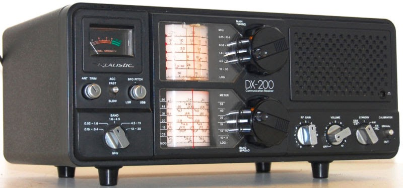 Rewind Audio  Realistic Dx 200 Am Ssb Cw Shortwave Ham