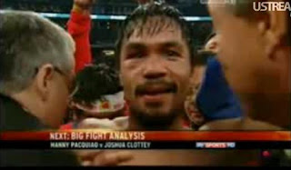 "Manny ""Pacman"" Pacquiao wins fight by Unanimous Decision against"