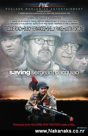 Manny Pacquiao In Saving Private Ryan
