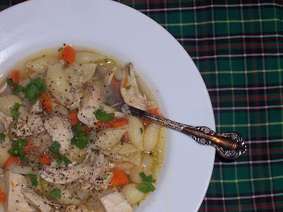 Chalet Style Chicken Soup