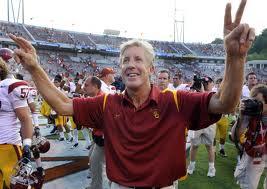 Former USC Head Coach Pete Carroll