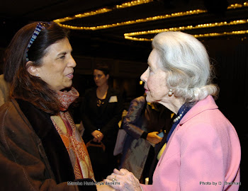 With Marsha Hunt at NYWIFT Awards Luncheon NYC
