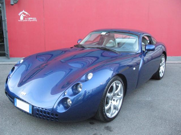 A very interesting TVR Tuscan MK1 with Left Hand Drive is for sale in