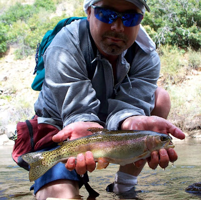 Coloradocasters waterton canyon the bike and fish for Colorado fish stocking