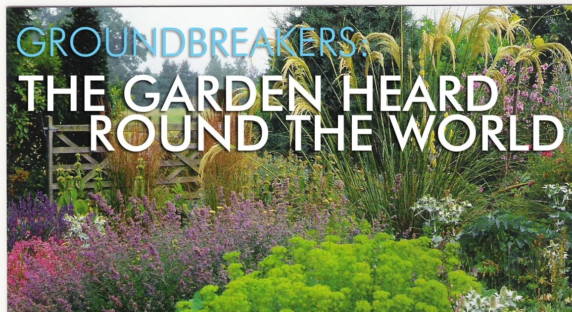 grounded design by Thomas Rainer: Groundbreakers: The Garden Heard ...