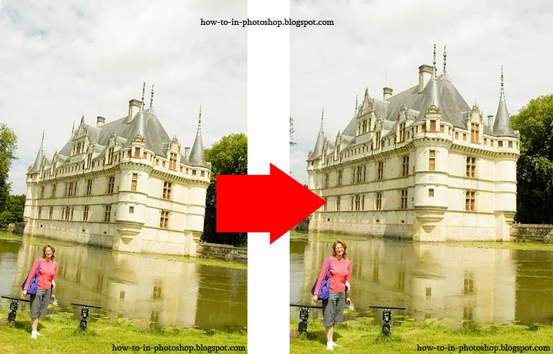 how to change orientation of photo in photoshop
