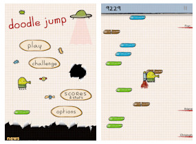 Doodle Jump App for iPad, iPhone and iPod Touch
