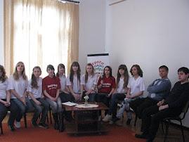 """А ось і перша телезйомка учасниць конкурсу """"Міс Жидачева 2010"""" для телепередачі"""