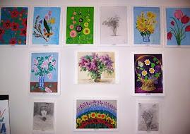 """Фрагменти виставки """"Краса рідної землі"""""""