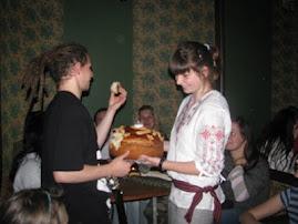 Вітааємо польських гостей хлібом-сіллю