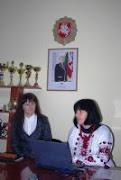 Директор центру творчості для дітей та молоді презентує проект
