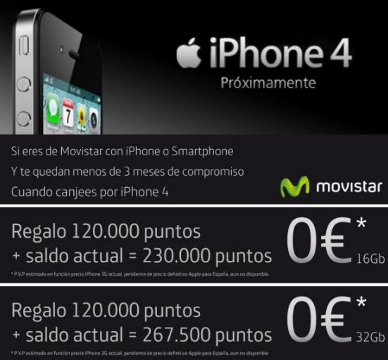 regalo puntos movistar iphone 5