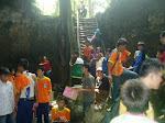 Penelitian Botani dan Zologi Siswa Kelas IX SMP  PUI di  Hutan Lindung Pangandaran  Jawa Barat.