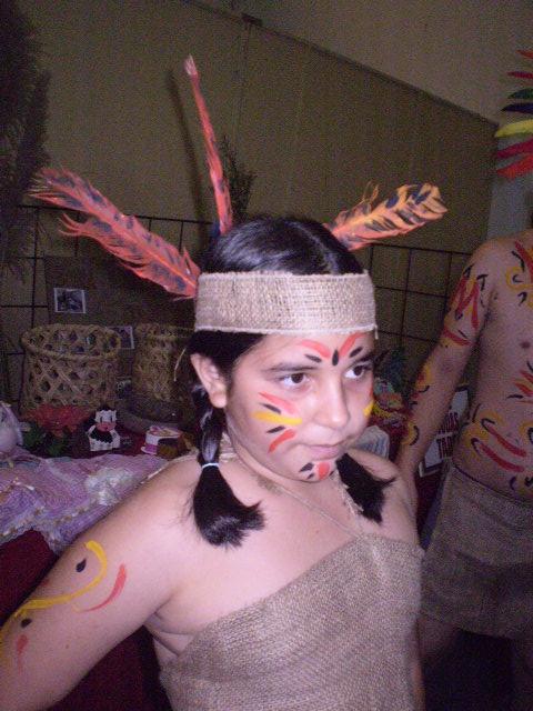 Yovelsy Didoménico en Encuentro de Tradiciones integrados con los Estudiantes de Educación Especial