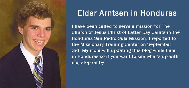 Elder Arntsen in Honduras