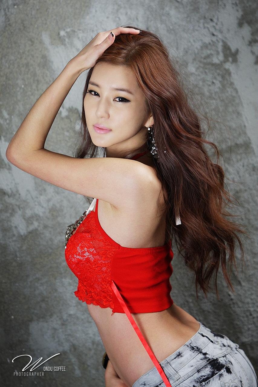 Korean sexy model