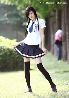 Not so. Sexy asian school uniform something