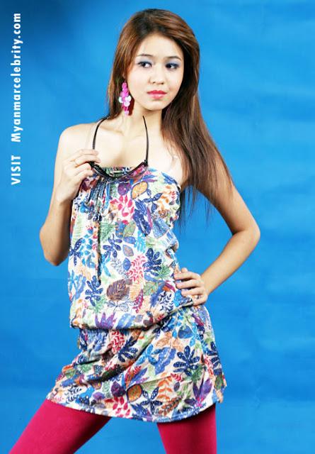 Myanmar Cute Model, Wutt Hmone Shwe Yee in Wedding Dress