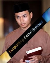 Supporting Saiful Bukhari