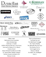 "2009 Jubiliee Jog ""Back Of The Shirt"" Sponsors"