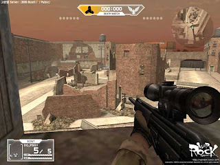 War Rock is a Free2PlayTM massively multiplayer online, modern tactical first person shooter (FPS) where players have the option to purchase a wide variety of gameplay enhancing items, services, and products. War Rocks Open Beta is slated for July, 2006. With the games awesome, real-world, weapons, smooth and intuitive controls, and a huge variety of battle-modes, War Rock is a blast for FPS Pros as well as first timers.