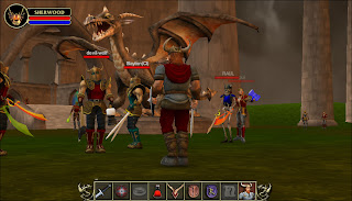 Sherwood Dungeon MMORPG is a massive multiplayer online role playing game where you defend your honor in combat with players from around the world. Sherwood features an infinitely deep dungeon filled with monsters.