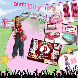 Miss Bimbo is an online virtual reality social networking game (or Sneg as we have aptly named it). It is a place where bimbos from around the world can join one another and be proud and happy of bimboland. In bimboland users can enjoy a safe fun environment in which to bring up and nurture their beloved bimbos. Users can interact, soicialise and educate one another on a wealth of female, fashion and bimbo related topics. Miss Bimbo is an educational tool, a social meeting place and a hot pot of bimboism. It is free to enjoy bimboland.