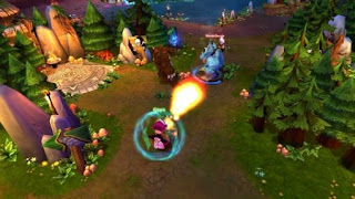 League of Legends (LOL) is a 3D Fantasy MMO very similar to a  popular Warcraft 3 game called DotA (Defense of the Ancients). League of  Legends combines elements of role-playing and strategy genres with  addictive battle action