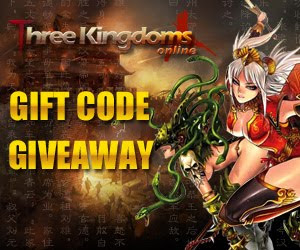 Three Kingdoms Online Item Keys Giveaway