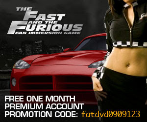 Fast and Furious Premium Account Giveaway