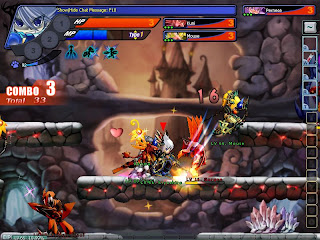 Grand Chase is a 2D, side-scrolling action MMO with anime inspired graphics. Grand Chase is the world's first real time online fighting game that enables up to 6 players to engage in thrilling fights with each other. Play as one of three characters and clear stages of monsters and bosses in this coop dungeon crawler. With three continents to explore, plenty of rewarding quests and a PvP Battle System, Grand Chase has plenty of content to explore.