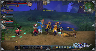 Zentia is a beautifully rendered MMORPG world where players will step into the shoes of one of 22 former immortals who are tasked with fixing the mortal realm.