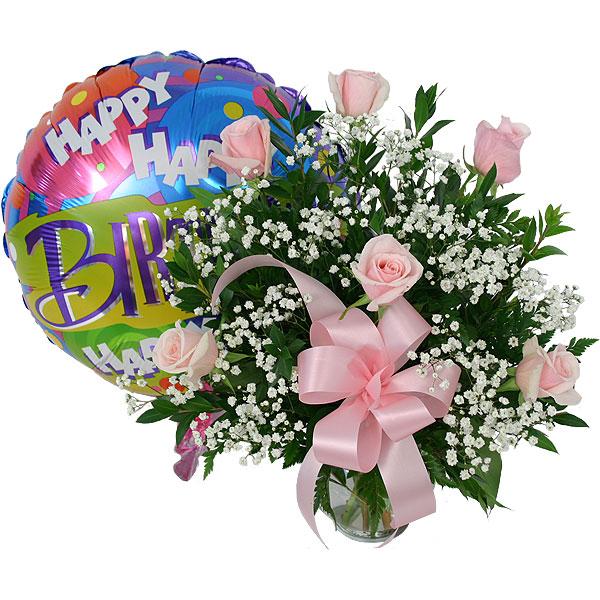 happy birthday flower cake images free
