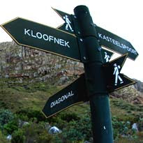 Diagonal Route up Table Mountain