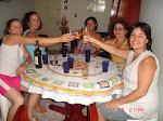 Vera,Joselma,Fofinha,Amélia e Cicleide.