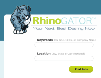 RhinoGATOR dot com is your best source for Job Searches in the good ole U.S. of A.
