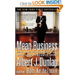 Mean Business by Al Dunlap