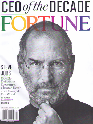 Steve Jobs, CEO of the Decade