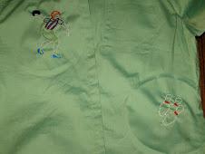 Ari's bowling blouse