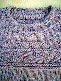 SailingKnitter: Guernsey Pullover Finished!