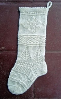 Christmas Stocking Loom Knitting Pattern : SailingKnitter: June 2010