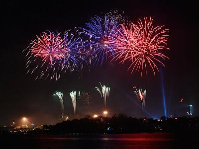 Kembang Api Tahun Baru 2010