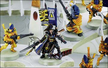 Warhammer 40k Eldar Craftworld Iyanden: Prince Yriel and his Guardians