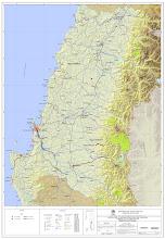 Situación Red Vial administrada por la Dirección de Vialidad en las regiones VII y VIII