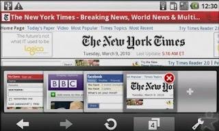 Info download browser internet untuk hp/handphone terbaru 2010 gratis