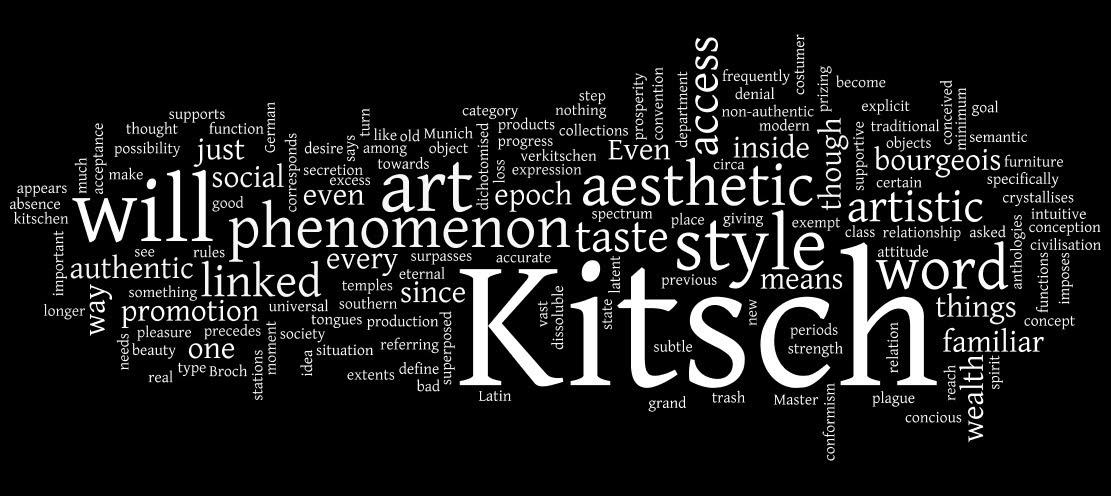 Kitsch architecture kitsch a moles for Architecture kitsch