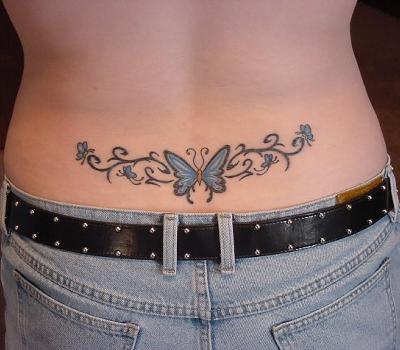 Tatuagem de Borboletas