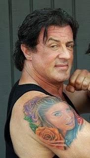 Projetos em tatuagens de famosos