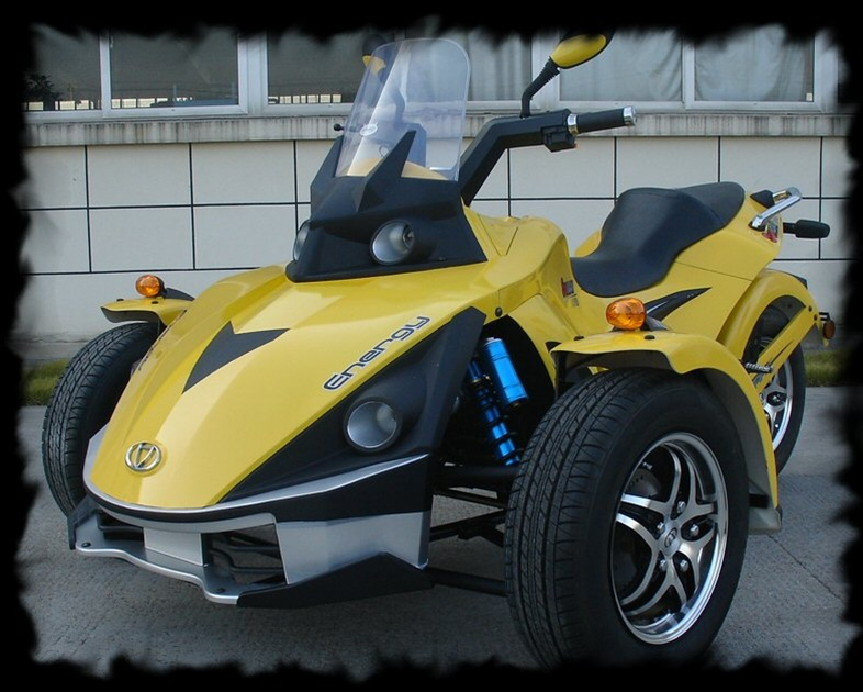 Progressive Values  Sure Looks Like The Can Am Spyder  But Sure