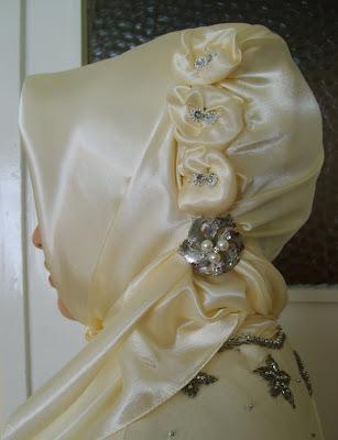 حجاب العروس 2012 حجاب للعروس